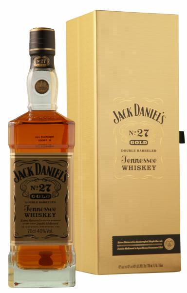 Jack Daniel's Tennessee Whiskey No. 27 Gold Double Barreled 40% 70cl
