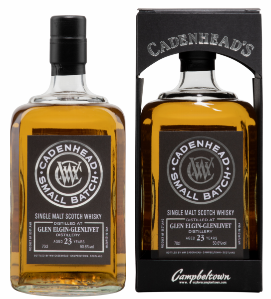 Gle Elgin Cadenhead's Cask Strength Single Malt 1995 23 J. 50.6% 70cl