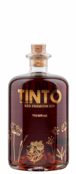 Tinto Red Premium Gin 40% 70cl