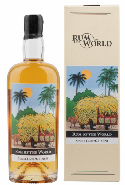 Rum of the World Single Cask Rum Guatemala 2016 2016 43% 70cl