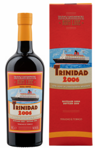 Transcontinental Rum Line Trinidad Small Batch Cask Strength 2006 56.5% 70cl