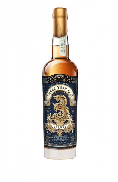 Blended Malt Whisky Three Year Old Deluxe