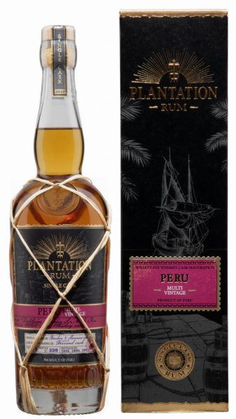 Plantation Rum Peru Single Cask Ed. 18 Willet Rye Whisky 49.8% 70cl