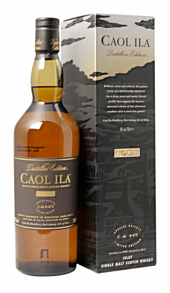 Caol Ila Single Malt Distillers Edition 2007 43% 70cl