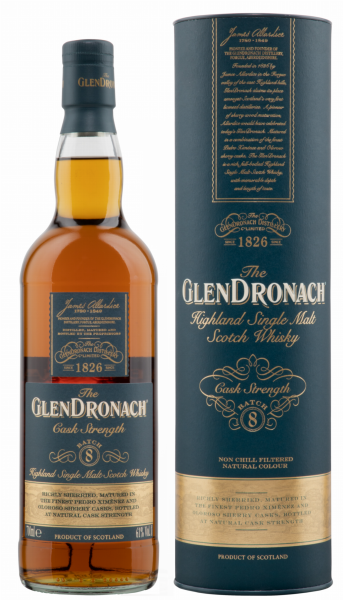 Glendronach Cask Strength Batch 8 Single Malt 61% 70cl