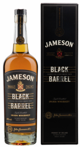 Jameson Black Barrel Irish Whiskey 40% 70cl