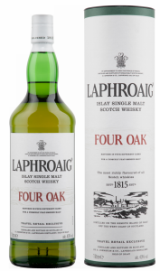 Laphroaig Four Oak Single Malt 40% 100cl