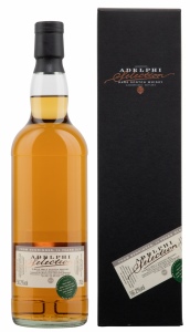 Single Malt Pinot Noir Swiss Wine Cask Adelphi 2006 56.2% 70cl