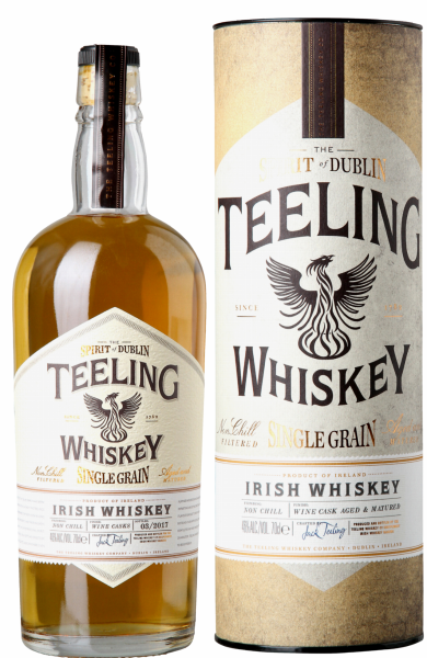 Teeling Single Grain Irish Whiskey 46% 70cl