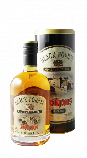 Rothaus Black Forest Single Malt Whisky 43% 70cl