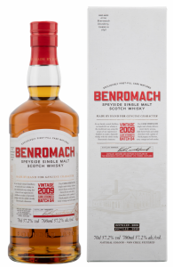 Benromach Cask Strength Single Malt 2009 57.2% 70cl