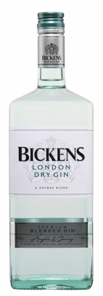 Bickens London Dry Gin 40% 100cl