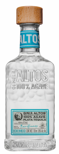Altos Tequila Plata 38% 70cl