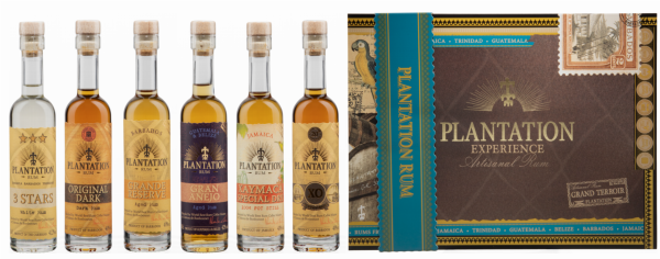 "Plantation Grand Crus ""Experience Box"" 6 x 10cl 41% 60cl"