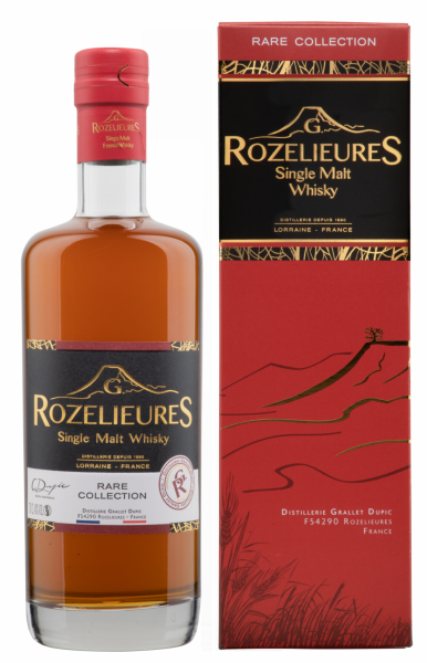 Rozelieures Peated Single Malt 40% 70cl