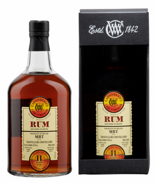 Rum Single Cask Cadenhead's Cask Strength