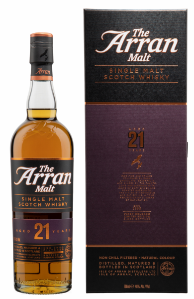 Arran Single Malt 21 J. 46% 70cl