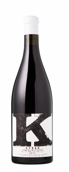 K Vintners Powerline Estate Syrah 2014 75cl