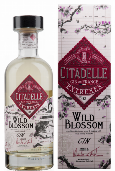 Citadelle Gin Extremes N°2 Wild Blossom 42.6% 70cl