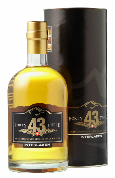 Swiss Highland Single Malt Forty Three