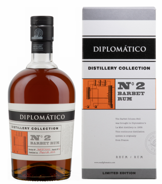 Ron Diplomático Ron Rare Collection N°2 Barbet 47% 70cl