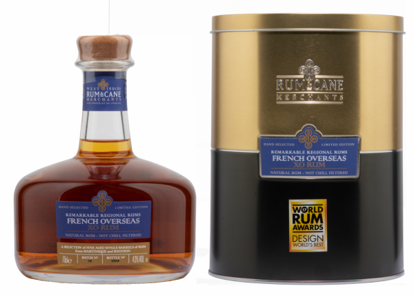 Rum & Cane Central French Overseas XO 43% 70cl