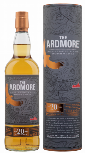 Ardmore Single Malt 1996 20 J. 49.3% 70cl