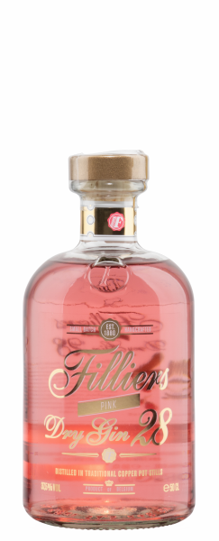 Filliers Pink Gin 37.5% 50cl