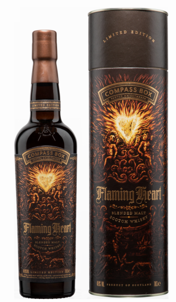 Compass Box Flaming Heart Scotch Whisky 48.9% 70cl