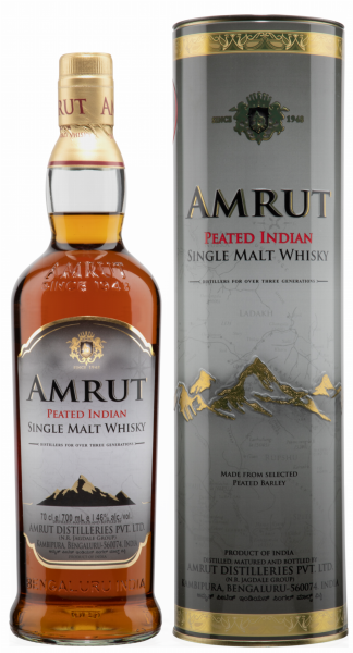 Amrut Peated Single Malt 46% 70cl