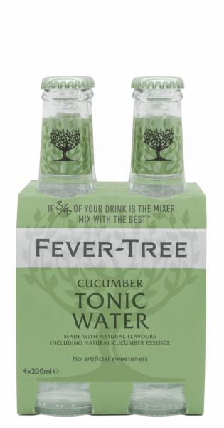 Fever Tree Cucumber Tonic Water EW Glas 4er-Pack 20cl